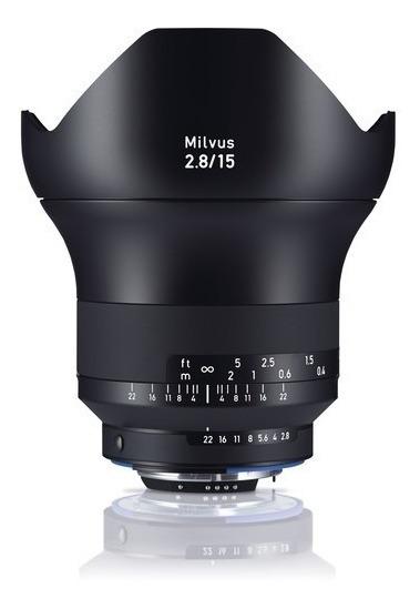 Zeiss Milvus 15mm F/2.8 Zf.2 Lente 15 # 2111-789