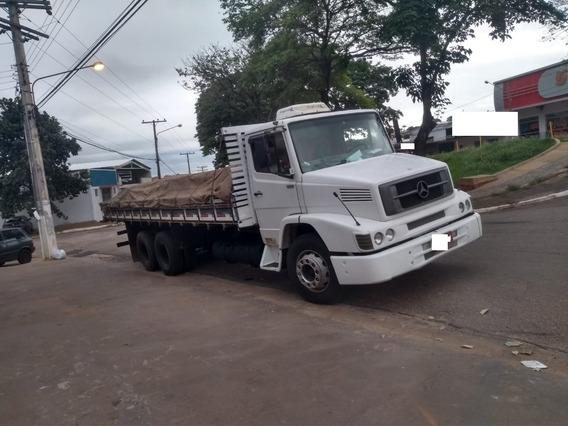 Mercedes Benz Mb L-1418 6x2 Truck 1993 No Chassis Motor Novo
