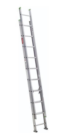 Escalera De Extensión 16 Peldaños, Aluminio Tipo Iii