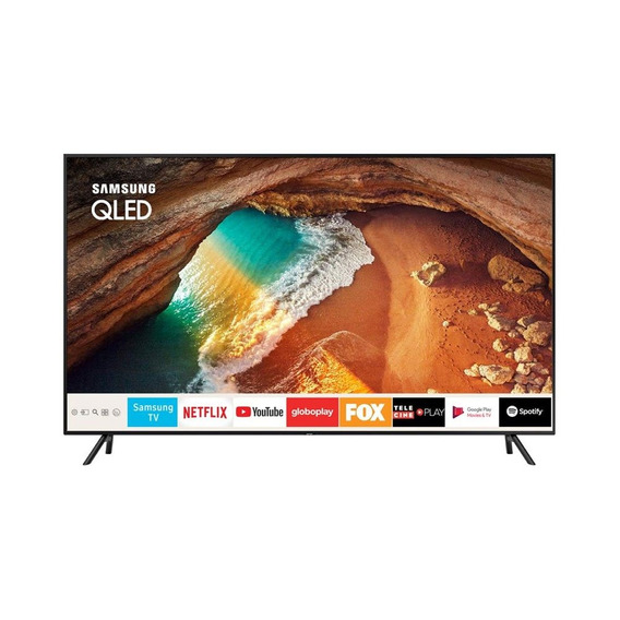 Smart Tv Qled 55 Polegadas Samsung Q60 Ultra Hd 4k