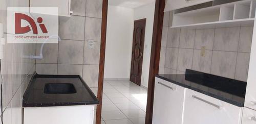 Apartamento Com 2 Dormitórios Para Alugar, 50 M² Por R$ 850,00/mês - Estiva - Taubaté/sp - Ap0278