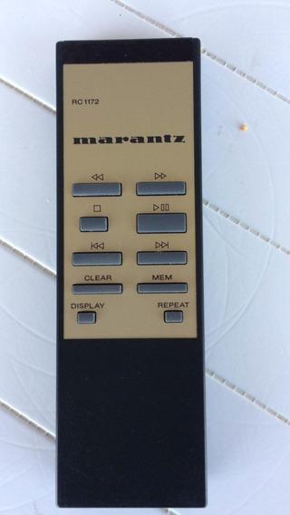 Controle Para Cd Player Marantz Rc1172 De Um Disco