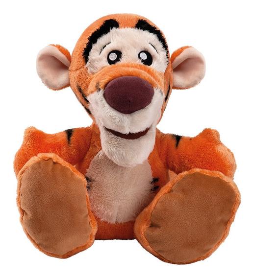 Pelucia Disney Ursinho Pooh - Tigrao 30cm Big Feet Oficial