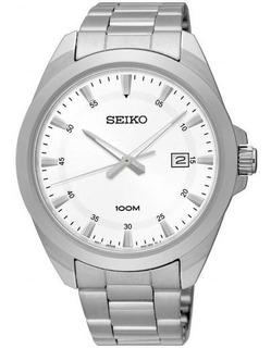 Reloj Seiko Analogo Hombre Calendario 100m Original Liniers