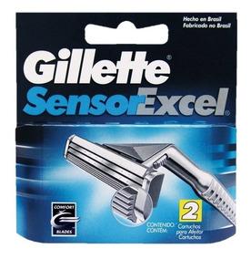 Carga Gillette Sensor Excel - Com 2 Unidades