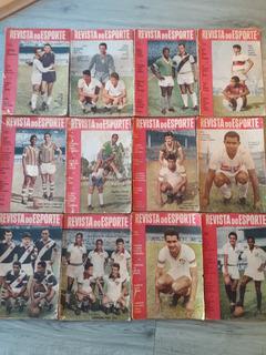 Revista Do Esporte. Kit C/ 12 Revistas + 2 Revistas Brinde