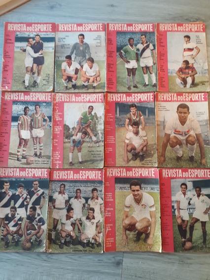 Revista Do Esporte C/ 12 Revistas + 2 De Brinde Frete Grátis