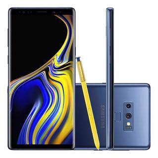 Samsung Galaxy Note 9 N9600z 128gb 6gb Ram 4g Azul Vitrine 1