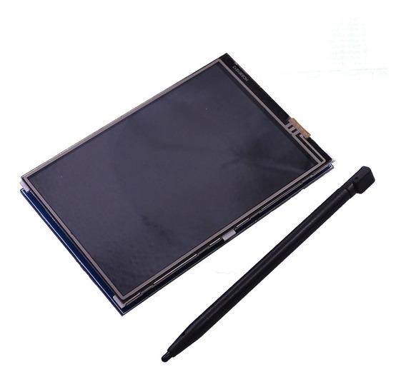 Tela Display Lcd 3.5 Touch Screen Tela Raspberry Pi 3 Pi3