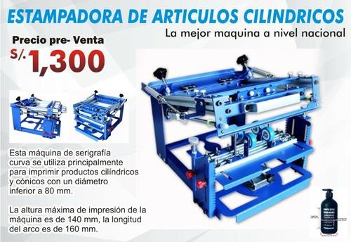 Maquina Para Serigrafia De Objetos Cilindricos ( Importada)