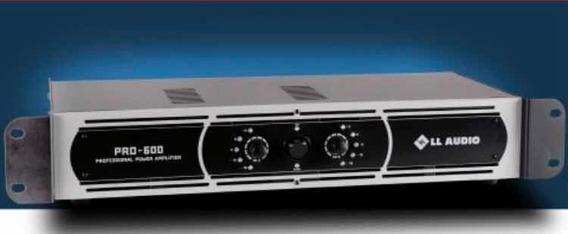Amplificador De Potência Ll Áudio Pro600 150w