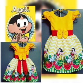 Lindo Vestido De Festa Magali Amarela