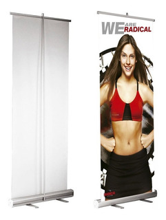 Banner Rollup 85x200 Roll Up (diseño Sin Cargo)