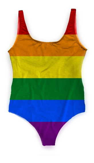 Maiô Body Bori Feminino Verão Lgbt Gay Pride Gls Love