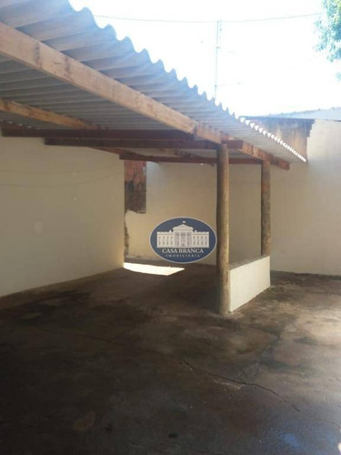 Imagem 1 de 6 de Casa Residencial À Venda, Conjunto Habitacional Ivo Tozzi, Araçatuba. - Ca1043
