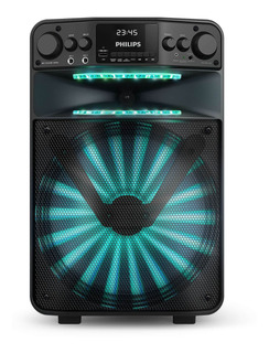 Parlante Philips TANX50 portátil inalámbrico Negro 100V/240V