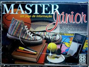 Jogo Master Junior Da Grow - Decada De 70/80 (usado)