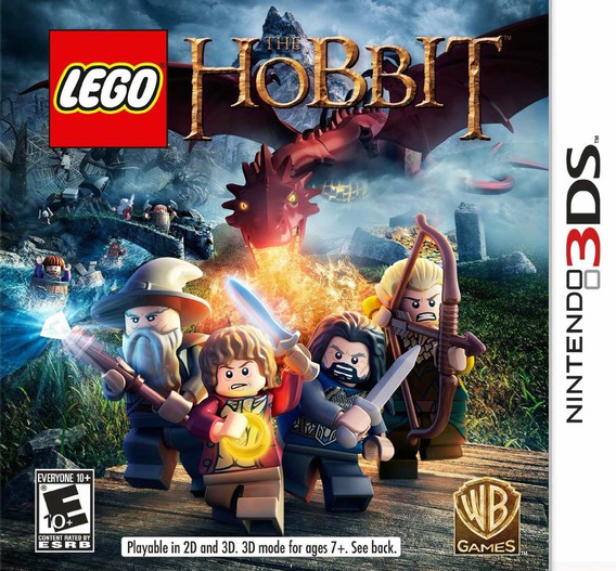 Lego The Hobbit Nintendo 3ds Novo Original