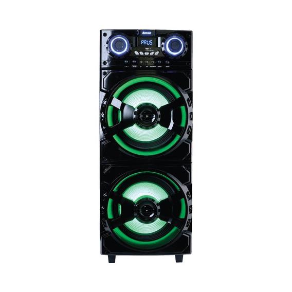 Caixa Amplificada Amvox Led Bluetooth Usb 1000w Aca 1001