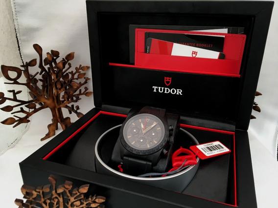 Tudor Black Shield Cronografo De Ceramica Full Set
