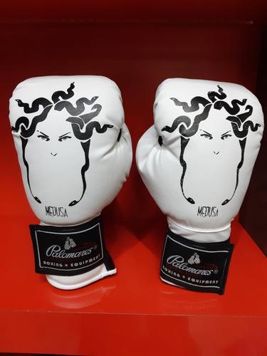 Par Guantes Box Boxing Gear Medusa Palomares Genuino Fpx