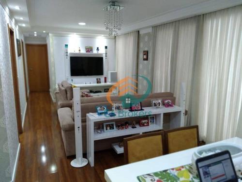 Imagem 1 de 22 de Apartamento À Venda, 129 M² Por R$ 1.170.000,00 - Centro - Guarulhos/sp - Ap2213