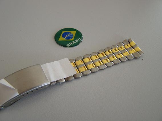 Pulseira Para Relógio Orient Mista Numero 18- Ou 1,8 Cms