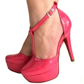 b20c9ca407 Scarpin Thelure Fino Tiras - Sapatos no Mercado Livre Brasil