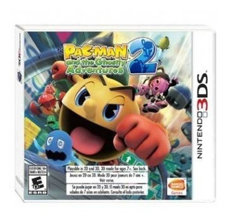 Pac-man And The Ghostly Adventures 2 - Juego Físico 3ds