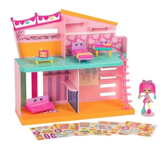 Shopkins Happy Places Casa De Juego C/acc Int 56914 Original