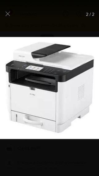 Multifuncional Ricoh Sp3710 Sp 3710 35ppm Impressora