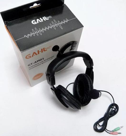 Audifonos Gaming Con Microfono Ghal Gt-am01 Para Pc Laptop