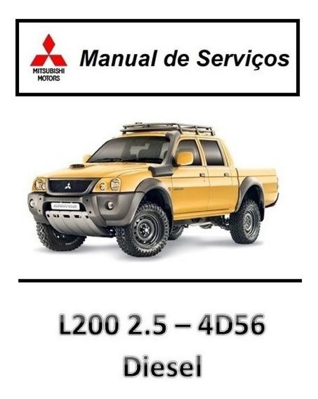 Manual De Serviços - L200 2.5 4d56 Diesel - Pdf