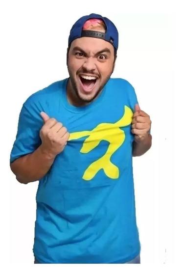Camiseta Foca Luccas Neto Infantil E Adulto