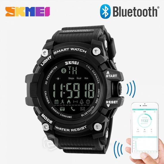 Reloj Skmei Smartwatch Bluetooht 1227 + Caja Metalica
