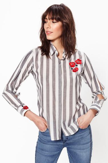 Camisa Las Oreiro Modelo Cerises Croque Madame