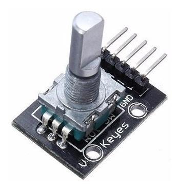 2 X Encoder Decoder Rotativo 360 Graus Ky-040 Arduino Rosca