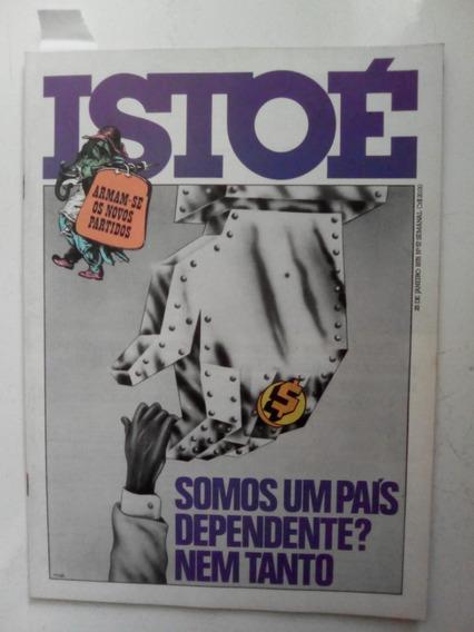 Revista Istoé 57 Partidos Queijo Elke Joinville Ubatuba 1978