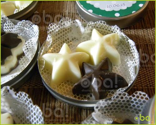 20 Latitas Personalizadas Chocolate Día De La Madre Empresas