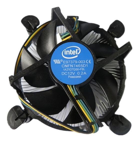 Cooler Para Processador Intel Lga 1151 100% Original Novo