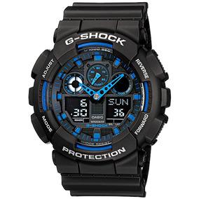 Relogio Masculino G-shock Ga-100-1a2dr - Casio - Original