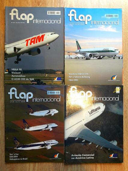 Lote Com 9 Revistas Flap Internacional Para Colecionador