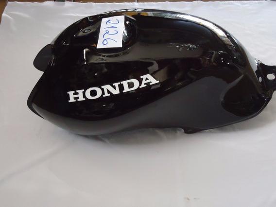Tanque Combustível Moto Honda Cg125 Fan 2004 A 2008 Preto