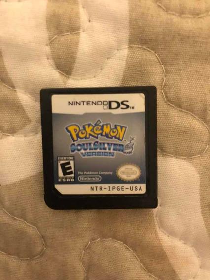 Pokemon Soul Silver Original Só A Fita Nintendo Ds