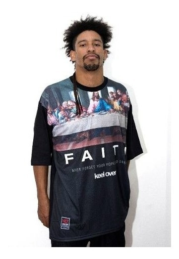 Remera Hombre Manga Corta Keel Over Faith