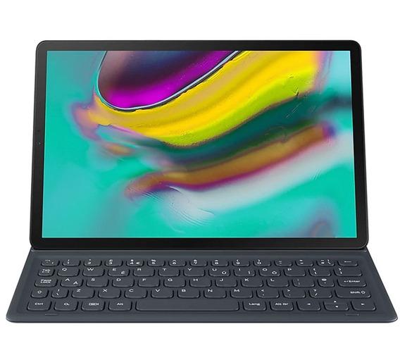 Capa Com Teclado Keyboard Original Samsung Para Galaxy Tab S5e Padrão Abnt2 Com Tecla Ç 06 Meses De Garantia