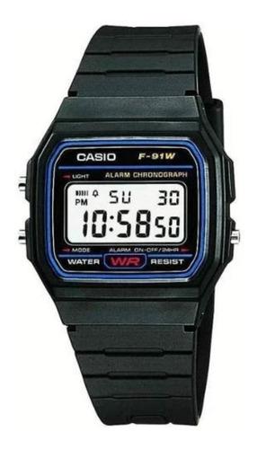 Reloj Casio Unisex Modelo F-91w-1d Vintage /jordy