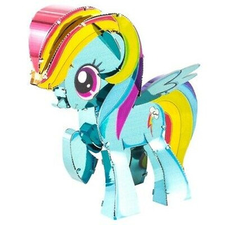 Fascinaciones Metal Tierra - My Little Pony - Rainbow Dash