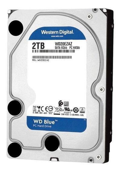 Disco Duro Interno Western Digital Wd20ezaz 2tb Azul Sata 3