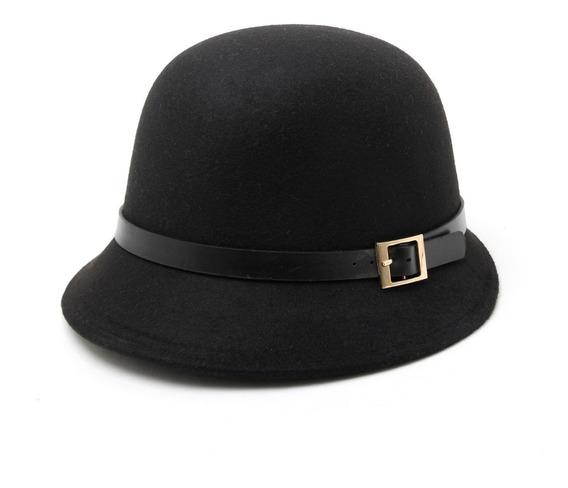 Sombrero Cloche Fieltro Mujer Años 20 Templo Kosher
